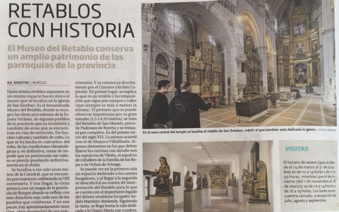 El Museo del Retablo en los medios